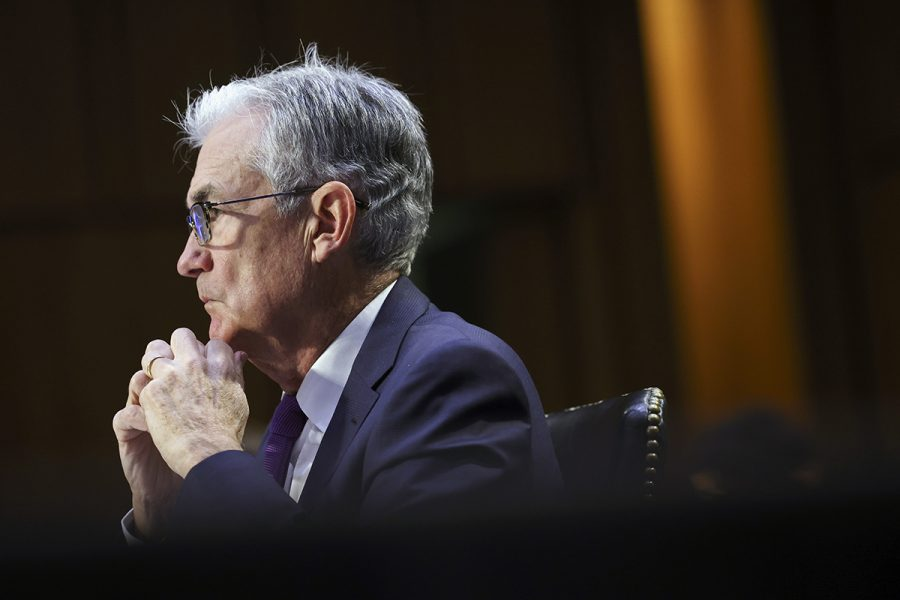 Federal Reserve-chefen Jerome Powell
